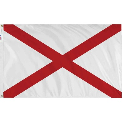 Valley Forge 3 Ft. x 5 Ft. Nylon Alabama State Flag