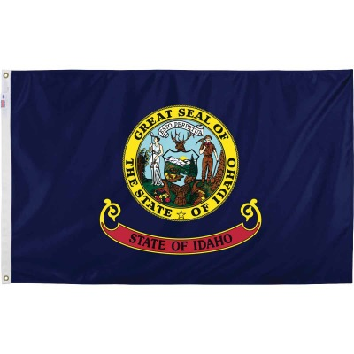 Valley Forge 3 Ft. x 5 Ft. Nylon Idaho State Flag