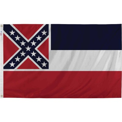 Valley Forge 3 Ft. x 5 Ft. Nylon Mississippi State Flag