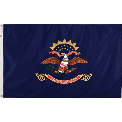 Valley Forge 3 Ft. x 5 Ft. Nylon North Dakota State Flag