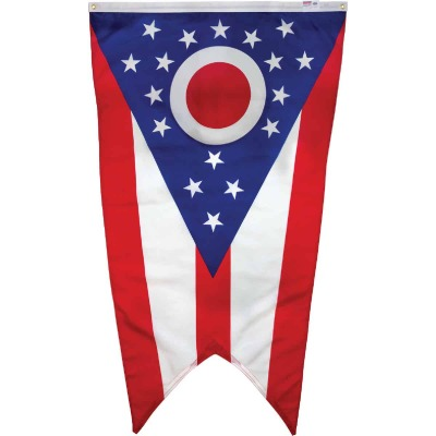 Valley Forge 3 Ft. x 5 Ft. Nylon Ohio State Flag