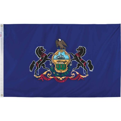 Valley Forge 3 Ft. x 5 Ft. Nylon Pennsylvania State Flag