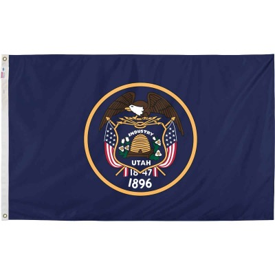 Valley Forge 3 Ft. x 5 Ft. Nylon Utah State Flag