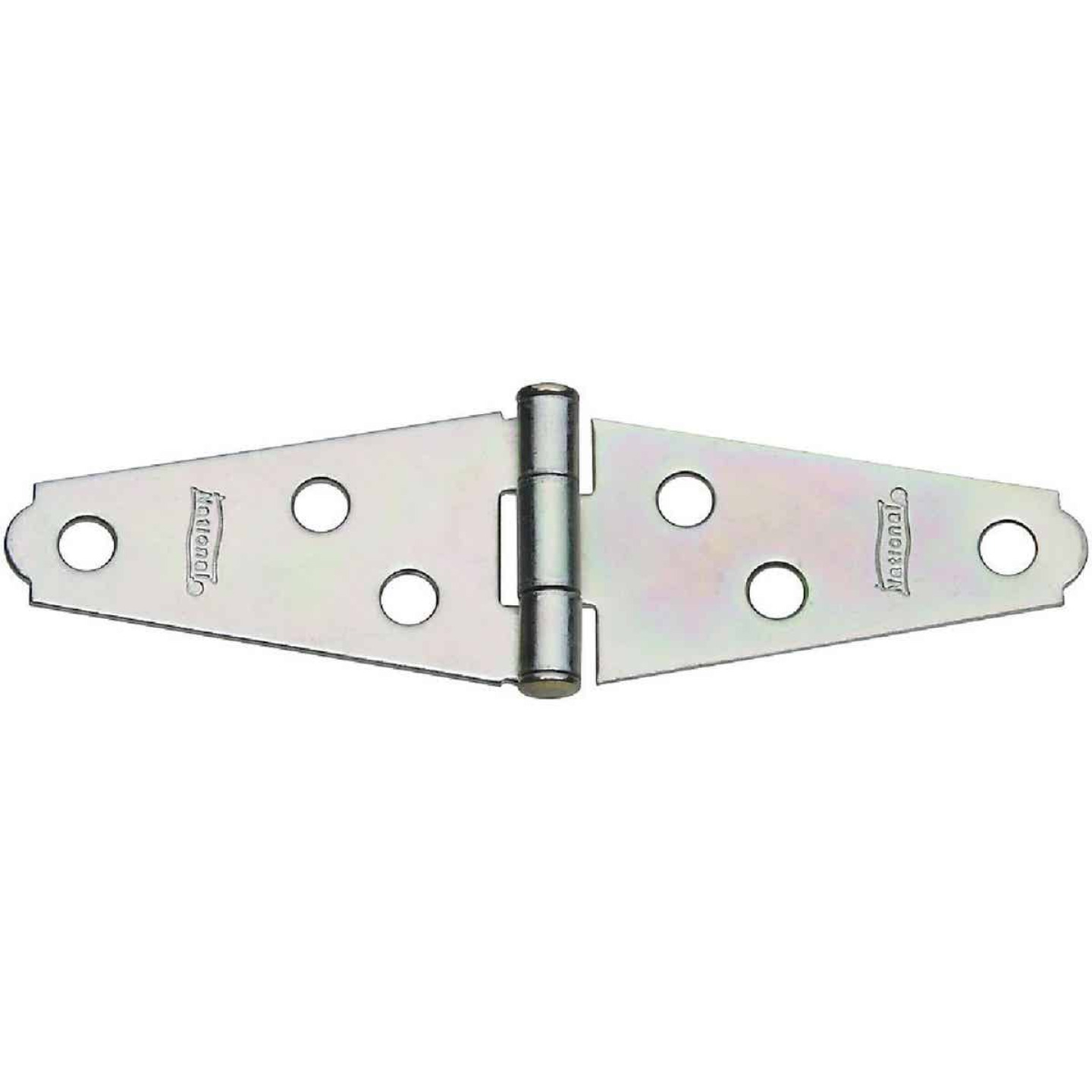 National 2 In. Zinc Light Strap Hinge (2-Pack) Image 1
