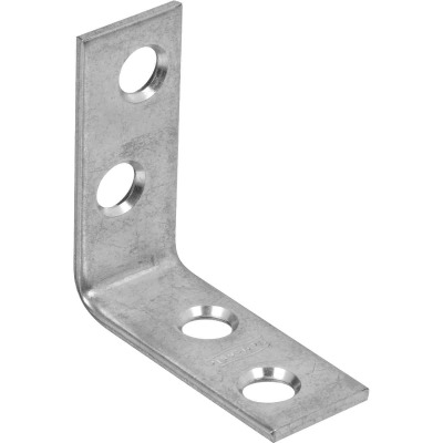 National Catalog 115 1-1/2 In. x 5/8 In. Zinc Corner Brace