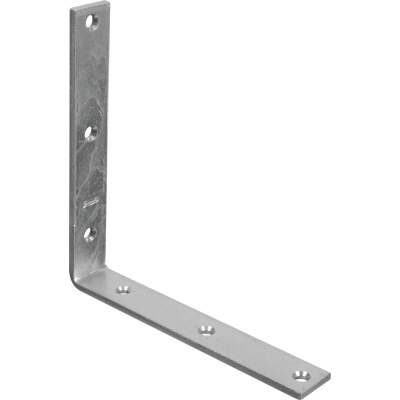 National Catalog 115 8 In. x 1-1/4 In. Zinc Corner Brace