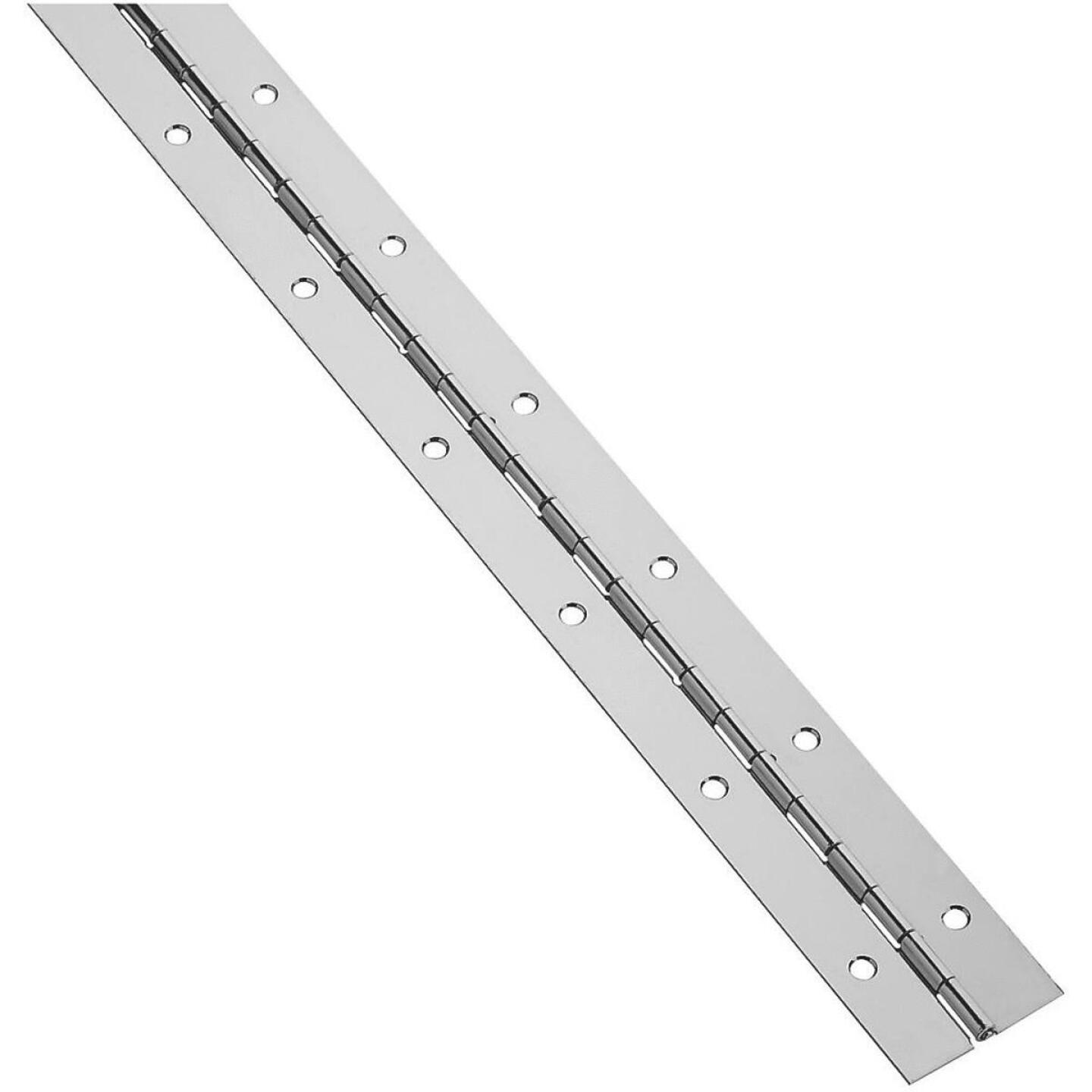 National 1-1/2 In. x 48 In. Stainless Steel Continuous Hinge Image 1