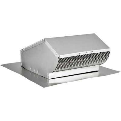 Lambro 10 In. Aluminum Roof Vent Cap with Damper
