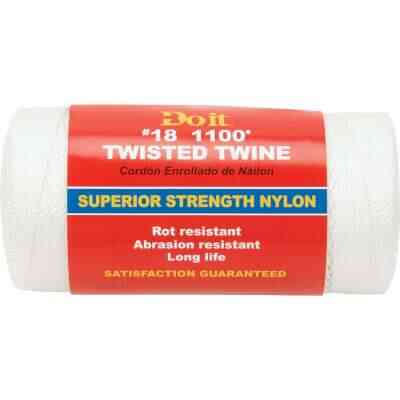 Do it #18 x 1100 Ft. White Nylon Twisted Twine