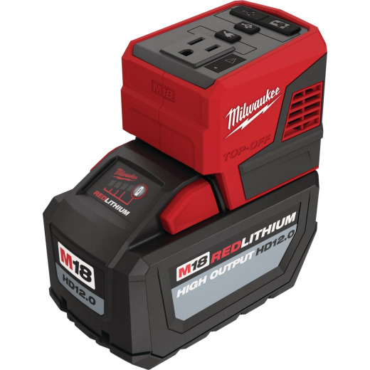 Milwaukee M18 18 Volt Lithium-Ion TOP-OFF 175W Power Source