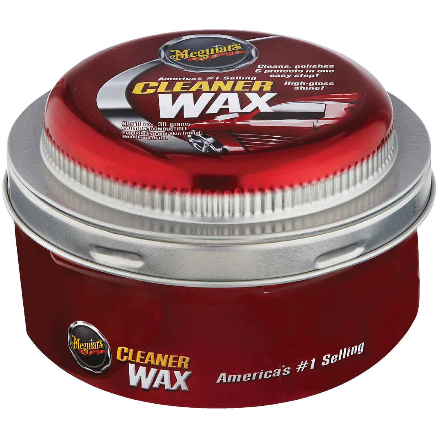 Meguiars 11 Oz. Paste Car Wax Image 1
