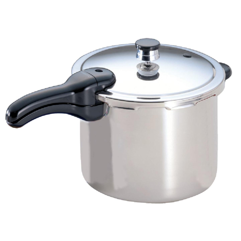 Presto 6 Qt. Stainless Steel Pressure Cooker Image 1