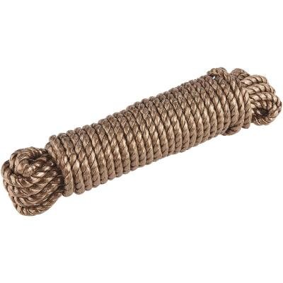Do it 3/8 In. x 50 Ft. Natural Twisted Unmanila Polypropylene Packaged Rope