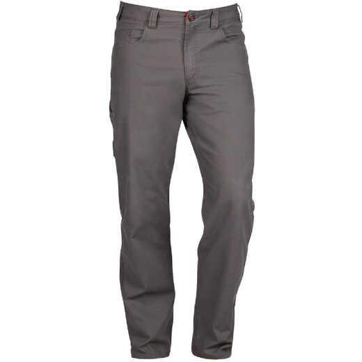 Milwaukee Flex Gray 34 x 32 Heavy-Duty Work Pants