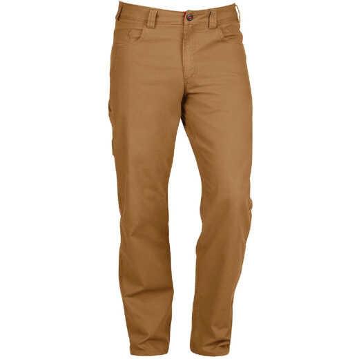 Milwaukee Flex Khaki 38 x 30 Heavy-Duty Work Pants