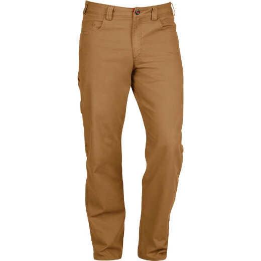 Milwaukee Flex Khaki 40 x 30 Heavy-Duty Work Pants